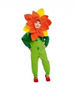 Disfraz Flor Primavera infantil Carnaval