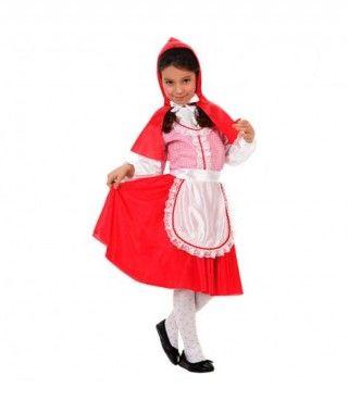 Disfraz Caperuza Roja niña infantil Carnaval