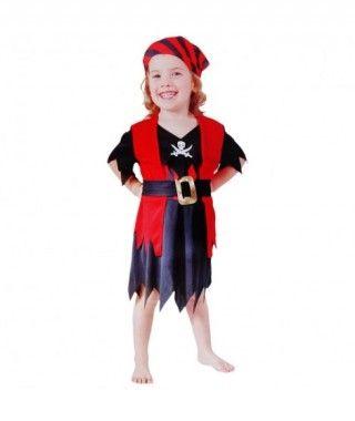 Disfraz Piratilla niña infantil Carnaval