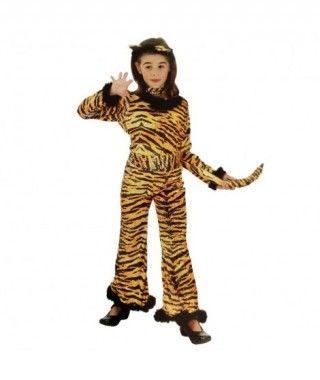 Disfraz Tigresa niña infantil Carnaval