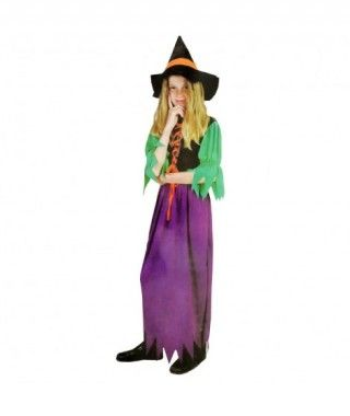 Disfraz Bruja classic niña infantil Halloween
