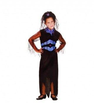 Disfraz Viuda Negra niña infantil Halloween