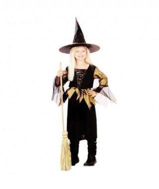 Disfraz Brujita Gris niña infantil Halloween