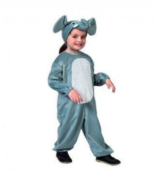 Disfraz Elefante Gris infantil Carnaval