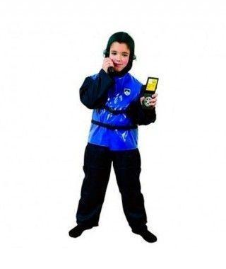 Disfraz Policia de Asalto niño infantil Carnaval
