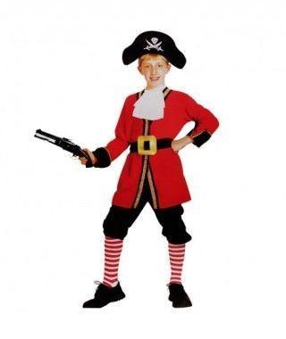 Disfraz Capt Hook niño infantil Carnaval
