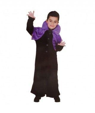 Disfraz Vampiro Morado niño infantil Halloween