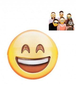 Máscara Emoji Sonriente Accesorio Carnaval