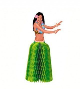 Figurines Bailarina Hawaiana (2 uds) Decoración Mesa