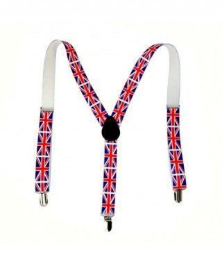 Tirantes Bandera Británica Accesorio Fiesta