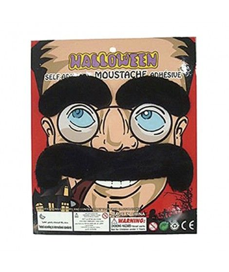 Set Bigote y Cejas Postizos Groucho Marx