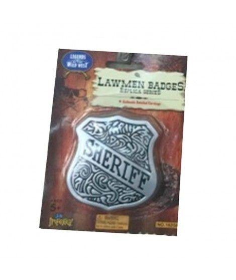 Placa de Sheriff del Lejano Oeste Accesorio