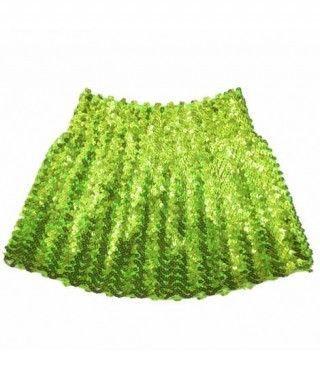 Minifalda Lentejuelas Verde adulto