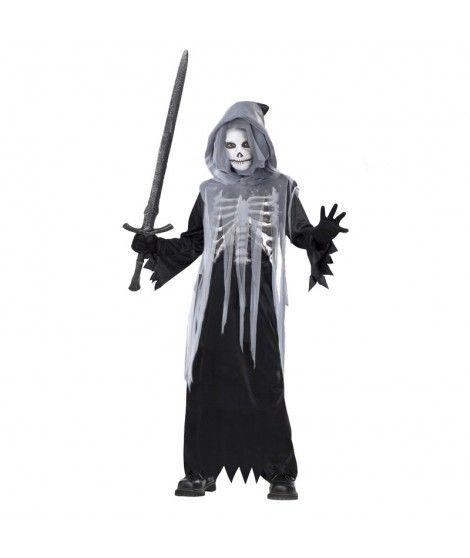 Disfraz Muerte Death Skull niño infantil para Halloween