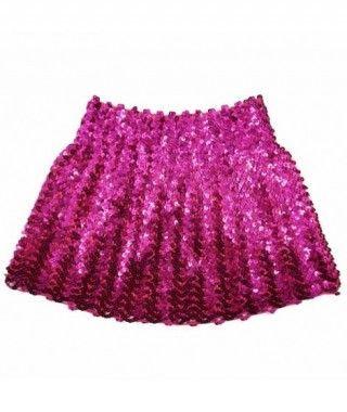 Minifalda Lentejuelas Fucsia adulto