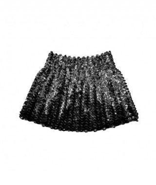 Minifalda Lentejuelas Negra infantil