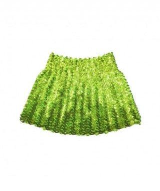Minifalda Lentejuelas Verde infantil