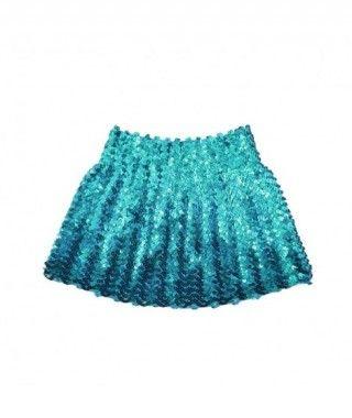 Minifalda Lentejuelas Azul Turquesa infantil