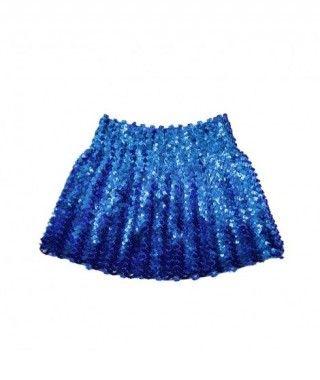 Minifalda Lentejuelas Azul Oscura infantil
