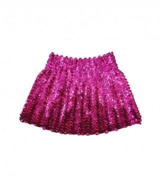 Minifalda Lentejuelas Fucsia infantil