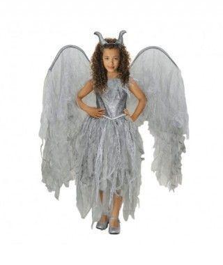 Disfraz Hada Maléfica niña infantil para Halloween