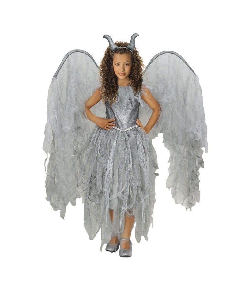 disfraz hada malfica nia infantil para halloween