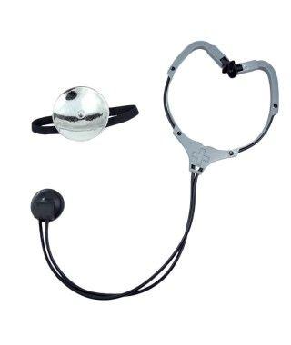 Estetoscopio y Frontal Médico Accesorio Carnaval