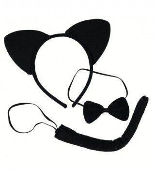 Accesorios Gato Negro (3 pcs)