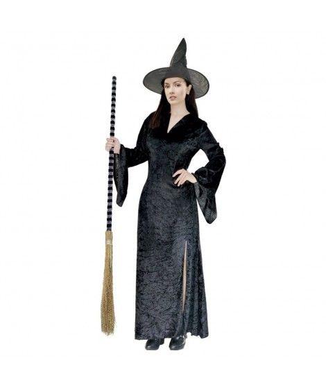 Disfraz de Bruja negra mujer adulto para Halloween