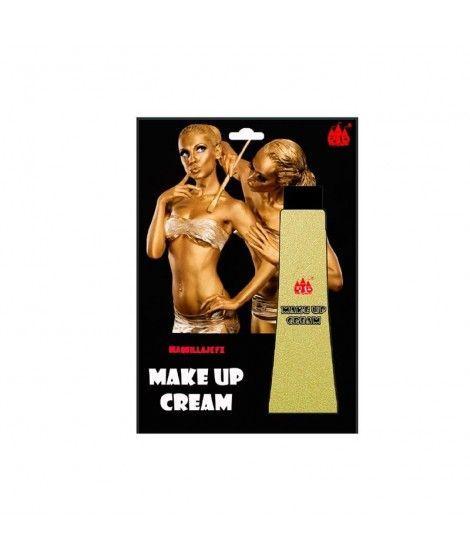 Maquillaje en crema Oro (Tubo 28 ml) Pinturas Carnaval y Halloween