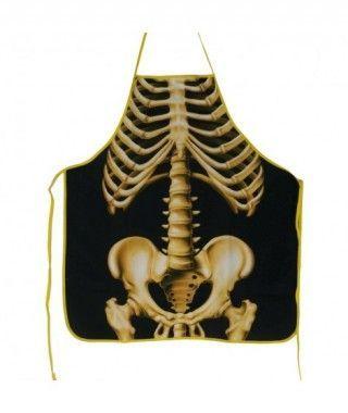 Delantal Despedidas Esqueleto