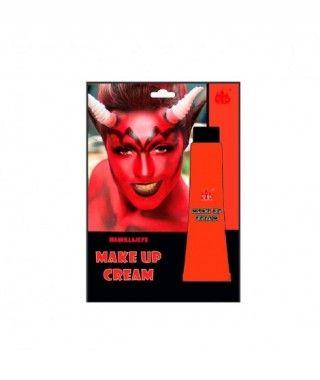 Maquillaje en crema Rojo (Tubo 28 ml) Pinturas Carnaval y Halloween