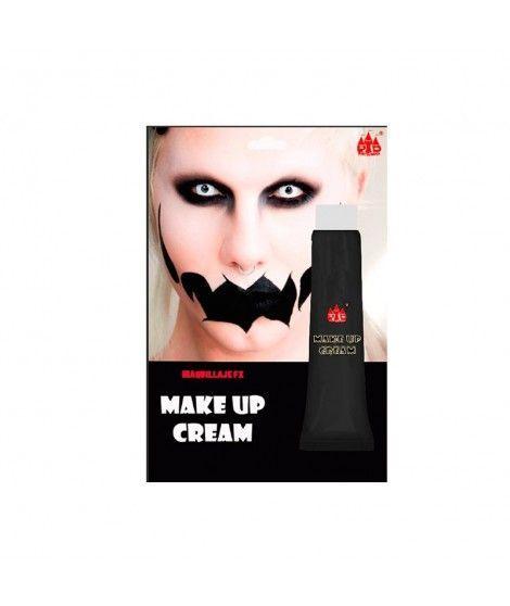 Maquillaje en crema Negro (Tubo 28 ml) Pinturas Carnaval y Halloween
