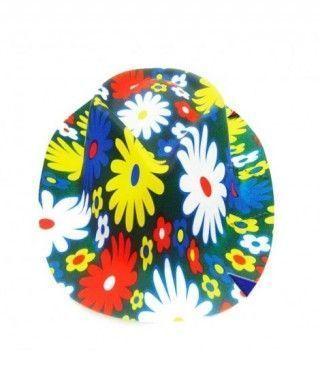 Sombrero Cowboy Flores PVC