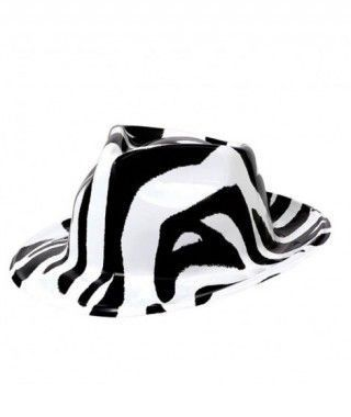 Sombrero Cowboy Cebra PVC