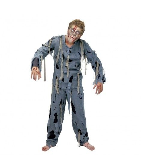 Disfraz Zombi Hombre Adulto Halloween