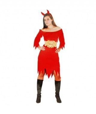 Disfraz Diablilla para mujer