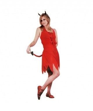 Disfraz Diabla sexy para mujer