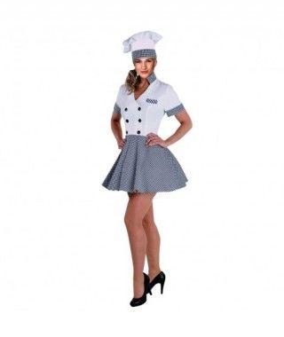 Disfraz Cocinera para mujer