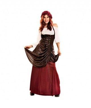 Disfraz Tabernera mujer...