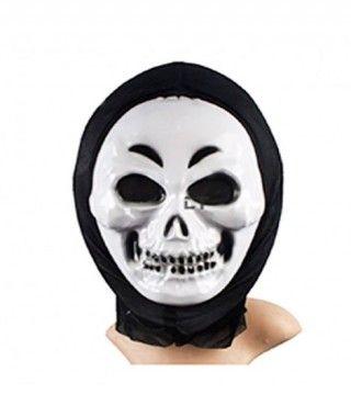 Máscara Calavera PVC capucha