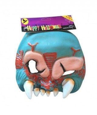 Máscara Ogro Azul Látex