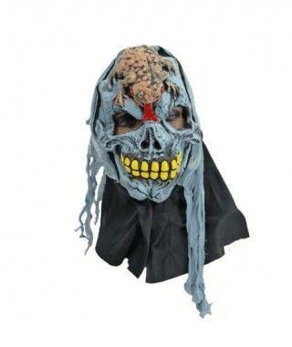 Máscara Halloween Látex y Gasas