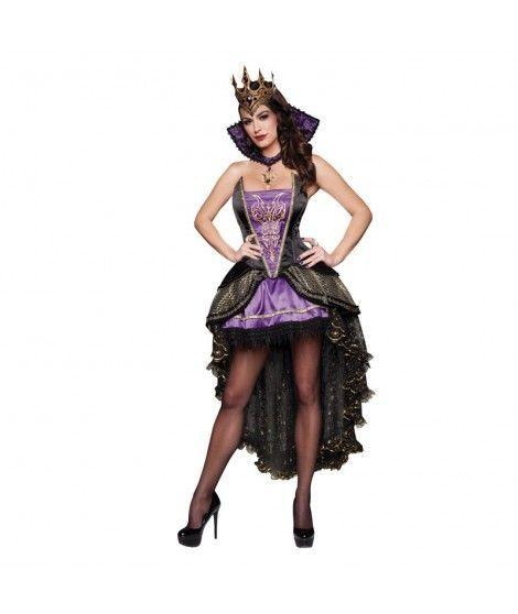 Disfraz de Reina Malvada mujer adulto para Halloween