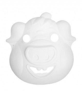 Máscara Cerdo Cartón Manualidades
