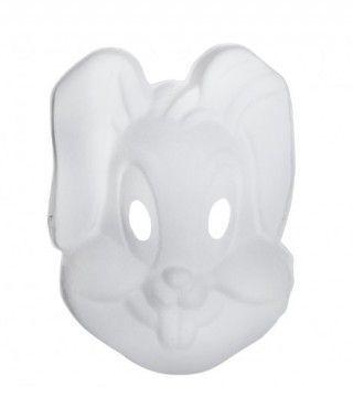 Máscara Conejo Cartón Manualidades