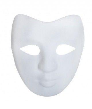 Máscara Teatral Cartón Manualidades