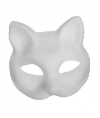 Máscara Gato Cartón Manualidades