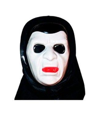 Máscara Vampiro PVC capucha