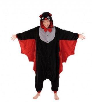 Disfraz Murciélago Pijama Kigurumi para adulto